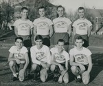 Bridgewater College, Group portrait of the Cross Country team, 1950 - 1951 by Bridgewater College