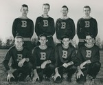 Bridgewater College, Group portrait of the Cross Country team, 1951 - 1952 by Bridgewater College