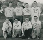 Bridgewater College, Paul Yoder Jr. (photographer), Group portrait of the Junior Varsity Cross Country team, 1950 by Paul Yoder Jr.