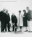 Bridgewater College, Daleville Hall groundbreaking, 16 July 1962 by Bridgewater College