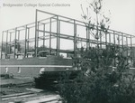 Bridgewater College, Daleville Hall construction, probably 1962 by Bridgewater College
