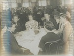 Bridgewater College, Students seated at tables in the Rebecca Hall dining room, undated by Bridgewater College