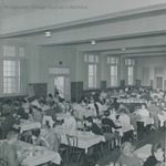 Bridgewater College, Students in the Rebecca Hall dining room, undated by Bridgewater College