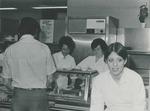 Bridgewater College cafeteria serving line, undated by Bridgewater College