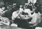 Bridgewater College, Students eating in the cafeteria, undated by Bridgewater College