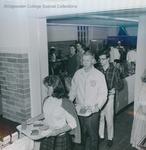 Bridgewater College, cafeteria line, undated by Bridgewater College