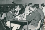 Bridgewater College, Students dining in the cafeteria, undated by Bridgewater College