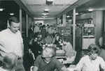 Bridgewater College, Customers in The Eyrie snack bar, undated by Bridgewater College