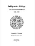 Bridgewater College: The First Hundred Years, 1880-1980