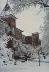 Bridgewater College, David Cook (photographer), Flory Hall in snow, January 1994 by David Cook