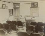 Bridgewater College, Bible classroom in Founders' Hall, circa 1904 by Bridgewater College