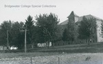 Bridgewater College, Field and electrical lines in front of Founders' Hall, undated by Bridgewater College