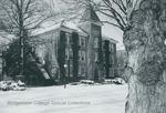 Bridgewater College, Founders' Hall in snow, undated by Bridgewater College