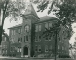 Bridgewater College, Founders' Hall front and west side, undated by Bridgewater College