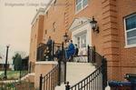 Bridgewater College, Wallace Hatcher speaking at Geisert Hall dedication, 5 April 1991 by Bridgewater College