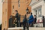 Bridgewater College, Geisert's grandson Joel F Geisert speaking at Geisert Hall dedication, 5 April 1991 by Bridgewater College
