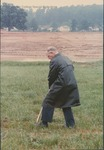 Bridgewater College, Wayne F Geisert at Geisert Hall groundbreaking, 7 June 1989 by Bridgewater College