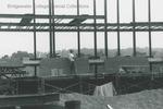 Bridgewater College, Geisert Hall construction, 15 February 1990 by Bridgewater College