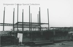 Bridgewater College, Geisert Hall construction, 15 February 1990 by Bridgewater College