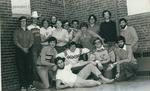 Bridgewater College, Heritage Hall I CB hall yearbook floor portrait, 1980 by Bridgewater College