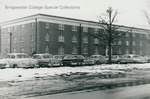 Bridgewater College, Vintage cars parked outside Heritage Hall, undated by Bridgewater College