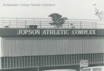 Bridgewater College, Jopson Field Press Box detail, undated by Bridgewater College