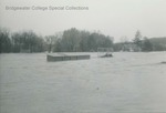 Bridgewater College, Jopson Field flooded, November 1985 by Bridgewater College