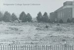 Bridgewater College, Clearing for construction of the Kline Campus Center, undated by Bridgewater College