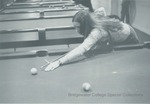 Bridgewater College, A student playing pool in the Kline Campus Center, undated by Bridgewater College