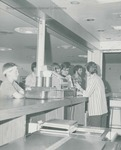 Bridgewater College, Line at the Eagle's Nest in the Kline Campus Center, undated by Bridgewater College