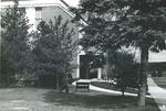 Bridgewater College, Alexander Mack Memorial Library south, undated by Bridgewater College