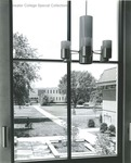 Bridgewater College, Alexander Mack Memorial Library from Cole Hall, undated by Bridgewater College