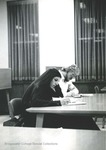Bridgewater College, Students studying in the Alexander Mack Memorial Library, circa 1976 by Bridgewater College
