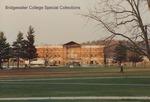 Bridgewater College, Late McKinney Center construction with entablature to raise, March 1995 by Bridgewater College
