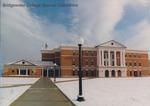 Bridgewater College, McKinney Center in snow, undated by Bridgewater College