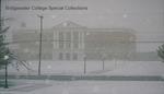 Bridgewater College, The McKinney Center in falling snow, circa 1996 by Bridgewater College