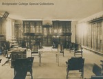 Bridgewater College library in College Hall (now Memorial Hall), undated by Bridgewater College