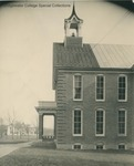 Bridgewater College, Old photograph of Memorial Hall side, undated by Bridgewater College