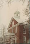 Bridgewater College, Memorial Hall in falling snow, 14 November 1995 by Bridgewater College