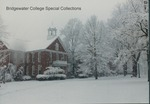 Bridgewater College, Memorial Hall in first snow of winter, 12 December 1988 by Bridgewater College