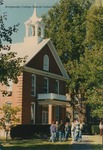Bridgewater College, Group standing outside Memorial Hall at Homecoming, 5 October 1996 by Bridgewater College