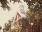 Bridgewater College, Memorial Hall front, August 1980 by Bridgewater College