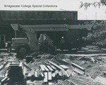 Bridgewater College, Construction of Nininger Hall swimming pool and classrooms addition, circa 1979 by Bridgewater College