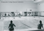 Bridgewater College, Students at the Nininger Hall swimming pool, undated by Bridgewater College