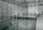 Bridgewater College, Interior construction at the Nininger Hall swimming pool, circa 1980 by Bridgewater College