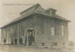 Bridgewater College, Early photograph of the old gymnasium, circa 1908 by Bridgewater College
