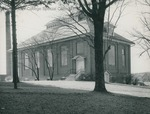 Bridgewater College, The old gymnasium, circa 1956 by Bridgewater College