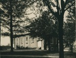 Bridgewater College, The old gymnasium, circa 1937 by Bridgewater College