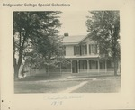 Bridgewater College, The old President's House, 1918 by Bridgewater College