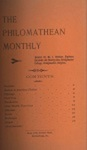 Philomathean Monthly Volume 4 (1899-1900) by Bridgewater College